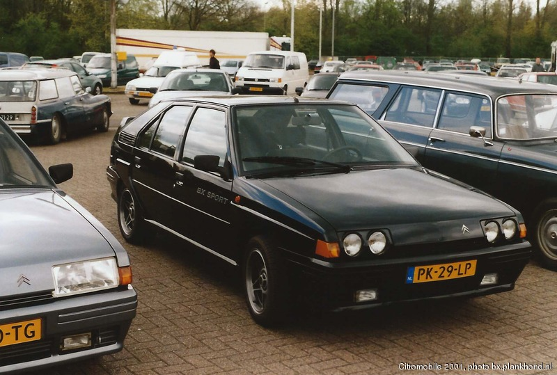 BX Sport, datum eerste toelating 24 april 1986